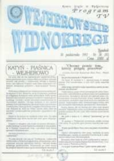 Wejherowskie Widnokręgi, 1992, październik, Nr 20 (81)