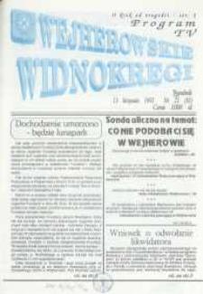 Wejherowskie Widnokręgi, 1992, listopad, Nr 22 (83)