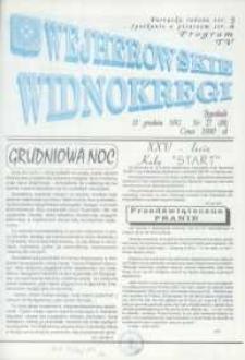 Wejherowskie Widnokręgi, 1992, grudzień, Nr 27 (88)