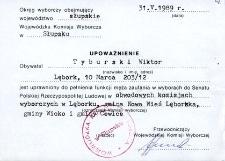 Upoważnienie - Tyburski Wiktor [1]