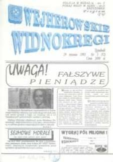 Wejherowskie Widnokręgi, 1993, styczeń, Nr 3 (92)