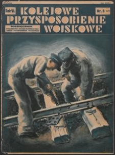 Kolejowe Przysposobienie Wojskowe, 1934, nr 5