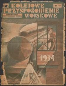 Kolejowe Przysposobienie Wojskowe, 1934, nr 1