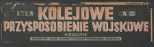 Kolejowe Przysposobienie Wojskowe, 1934, nr 10