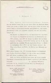 [Odpis dotyczący opisu herbu rodowego rodziny von Hohendorff, 1]