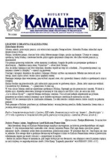 Kawaliera : biuletyn Koła nr 21, 2010, nr 3
