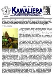 Kawaliera : biuletyn Koła nr 21, 2010, nr 4