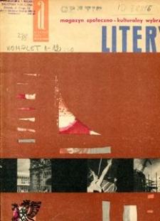 Litery : magazyn społeczno-kulturalny Wybrzeża, 1962, nr 1/2