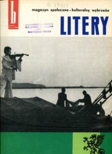 Litery : magazyn społeczno-kulturalny Wybrzeża, 1962, nr 3