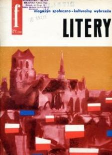 Litery : magazyn społeczno-kulturalny Wybrzeża, 1962, nr 7