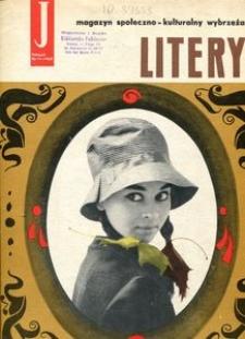 Litery : magazyn społeczno-kulturalny Wybrzeża, 1962, nr 11
