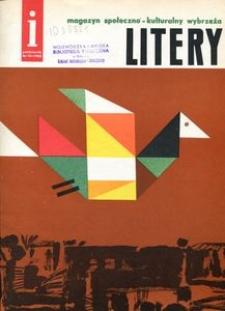 Litery : magazyn społeczno-kulturalny Wybrzeża, 1962, nr 10