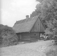 Chata rybaka (w starej części skansenu) - Wdzydze