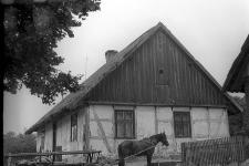 Szkieletowy budynek szkoły - Więckowy