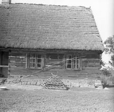Budynek mieszkalny zrębowy - Chrztowo