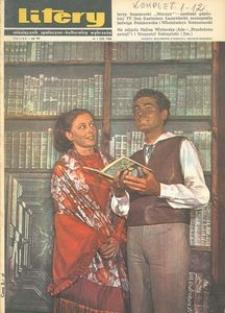 Litery : magazyn społeczno-kulturalny Wybrzeża, 1968, nr 1