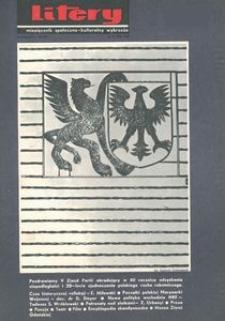 Litery : magazyn społeczno-kulturalny Wybrzeża, 1968, nr 11
