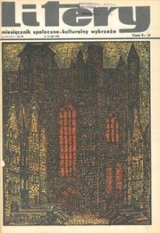 Litery : magazyn społeczno-kulturalny Wybrzeża, 1968, nr 12