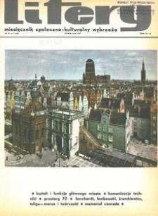 Litery : magazyn społeczno-kulturalny Wybrzeża, 1970, nr 7