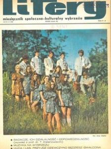 Litery : magazyn społeczno-kulturalny Wybrzeża, 1970, nr 8