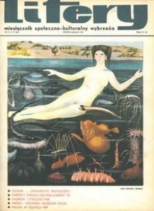 Litery : magazyn społeczno-kulturalny Wybrzeża, 1970, nr 10