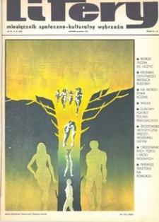 Litery : magazyn społeczno-kulturalny Wybrzeża, 1970, nr 12