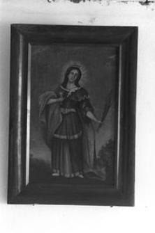 Obraz olejny Św. Barbara - Stawiska