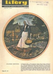 Litery : magazyn społeczno-kulturalny Wybrzeża, 1967, nr 4