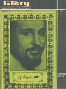 Litery : magazyn społeczno-kulturalny Wybrzeża, 1967, nr 12
