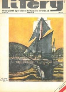 Litery : magazyn społeczno-kulturalny Wybrzeża, 1969, nr 7