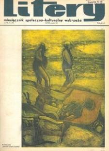 Litery : magazyn społeczno-kulturalny Wybrzeża, 1969, nr 8