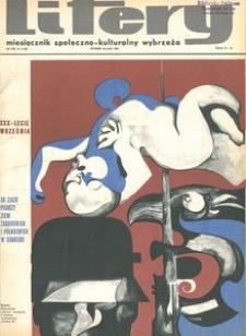 Litery : magazyn społeczno-kulturalny Wybrzeża, 1969, nr 9