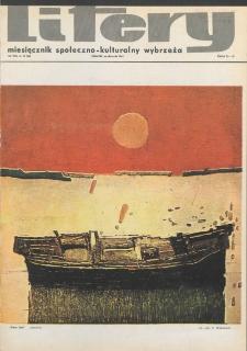 Litery : magazyn społeczno-kulturalny Wybrzeża, 1969, nr 10