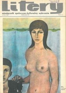 Litery : magazyn społeczno-kulturalny Wybrzeża, 1969, nr 12