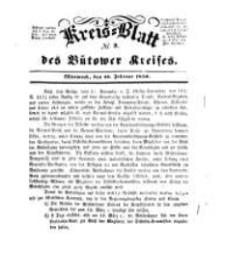 Kreisblatt des Bütower Kreises 1850 nr 9