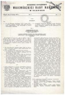 Dziennik Urzędowy Wojewódzkiej Rady Narodowej w Słupsku. Nr 1-7/1979