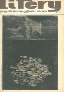 Litery : magazyn społeczno-kulturalny Wybrzeża, 1969, nr 2