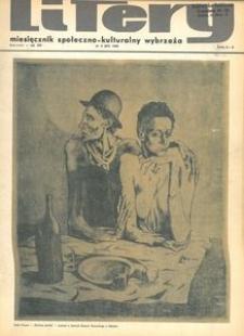 Litery : magazyn społeczno-kulturalny Wybrzeża, 1969, nr 3