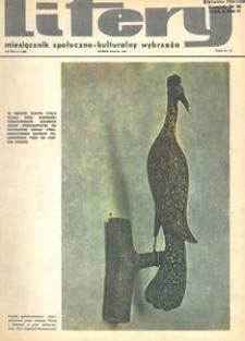 Litery : magazyn społeczno-kulturalny Wybrzeża, 1969, nr 4