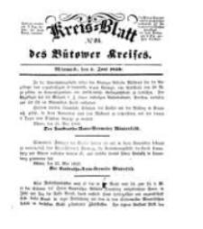 Kreisblatt des Bütower Kreises 1850 nr 23