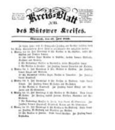 Kreisblatt des Bütower Kreises 1850 nr 25