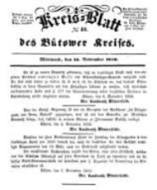 Kreisblatt des Bütower Kreises 1850 nr 46