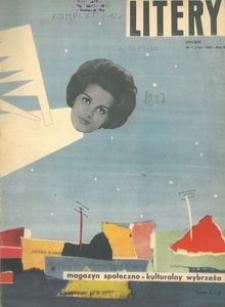 Litery : magazyn społeczno-kulturalny Wybrzeża, 1963, nr 1