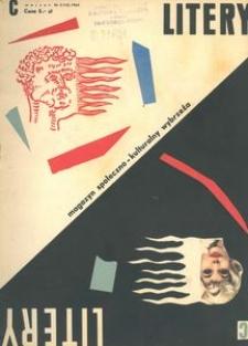 Litery : magazyn społeczno-kulturalny Wybrzeża, 1963, nr 3