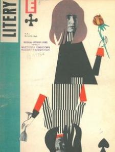 Litery : magazyn społeczno-kulturalny Wybrzeża, 1963, nr 5