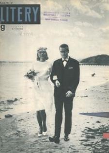 Litery : magazyn społeczno-kulturalny Wybrzeża, 1963, nr 7