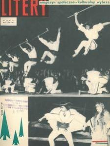 Litery : magazyn społeczno-kulturalny Wybrzeża, 1963, nr 8