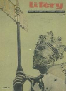 Litery : magazyn społeczno-kulturalny Wybrzeża, 1963, nr 11