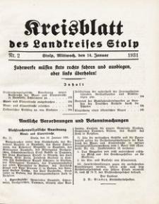 Kreisblatt des Landkreises Stolp nr 2