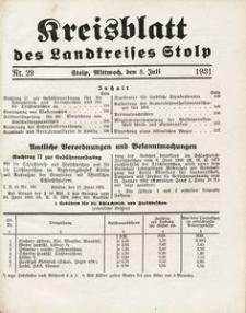 Kreisblatt des Landkreises Stolp nr 29